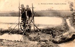 VIETNAM - Rizières Aux Environs D'HANOI - Carte écrite De Fort Bayard En Chine (enclave Française En 1923) - 2 Scans - Viêt-Nam