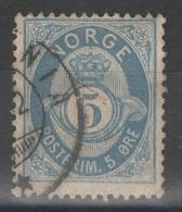 Norvège - YT 24 Oblitéré - Usati