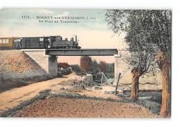 CPA 45 Nogent Sur Vernisson Le Pont Et Le Train Tramway Ligne De Chatillon Colligny Nogent Vernisson - France