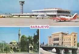 Airport Sarajevo Bosnia Cessna 1974 - Aerodrome