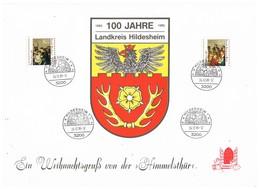 28974. Tarjeta Souvenir HILDESHEIM (Alemania Federal) 1985. HIMMELSTHUR, Navidad - [7] República Federal