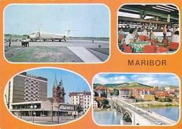 Airport Maribor Slovenia Inex Adria DC 9 - Aerodrome