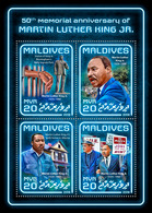 MALDIVES 2018 - Martin Luther King. Official Issue - Martin Luther King