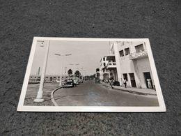 ANTIQUE POSTCARD PORTUGUESE GUINEA BIASSAU AVENIDA MARGINAL CIRCULATED 1953 - Guinea-Bissau