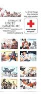 """FRANCE: Bande Carnet """"auto Adhésifs"""" 2015 """"La Croix Rouge Frnaçaise En Actiion"""" - Postzegelboekjes"""
