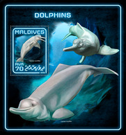MALDIVES 2018 - Dolphins S/S Official Issue - Dolfijnen