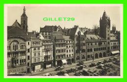 BÂLE, SUISSE - LE MARCHÉ, ANIMÉE - MARKTPLATZ -  CIRCULÉE - EDITION PHOTOGLOB - - BS Bâle-Ville