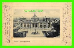 BERLIN, GERMANY - REICHSTAGSGEBAUDE - TRAVEL IN 1910 - - Allemagne