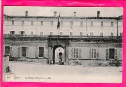 Cpa Carte Postale Ancienne  - Oran L Hopital Militaire - Oran
