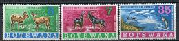 1967 - BOTSWANA - Mi. Nr. 37/39 - NH - (CW4755.4) - Botswana (1966-...)