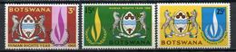 1968 - BOTSWANA - Mi. Nr. 40/42 - NH - (CW4755.4) - Botswana (1966-...)
