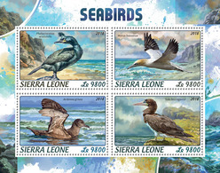 SIERRA LEONE 2018 - Seabirds. Official Issue. - Marine Web-footed Birds
