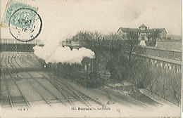 BOURGES (18) La Prison - Le Chemin De Fer - Carte Postée - Bourges