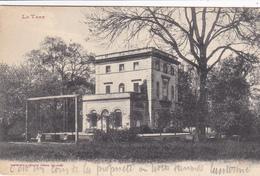 81. GAILLAC. CPA . CHATEAU DES RIVES. LE PARC. BALANÇOIRE. ANNEE 1919 + TEXTE - Gaillac