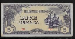 Japon - Japanese Governement - 5 Rupees - SUP - Japon
