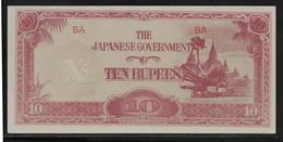 Japon - Japanese Governement - 10 Rupees - NEUF - Japan
