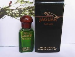 Miniature Parfum   Jaguar For Men - Miniatures Men's Fragrances (in Box)