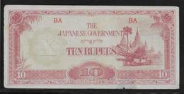 Japon - Japanese Governement - 10 Rupees - B - Japan