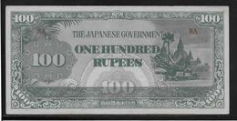 Japon - Japanese Governement - 100 Rupees - SPL - Japan