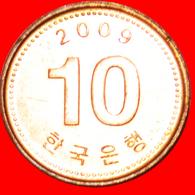# PAGODA: SOUTH KOREA ★ 10 WON 2009 MINT LUSTER! LOW START ★ NO RESERVE! - Korea, South