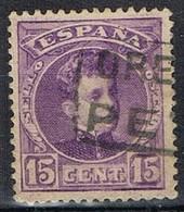 Sello 15 Cts Alfonso XIII, Carteria PETIN (Orense), Num 246 º - 1931-Hoy: 2ª República - ... Juan Carlos I