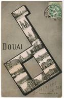 CPA Douai, Multi Vues (pk48170) - Douai