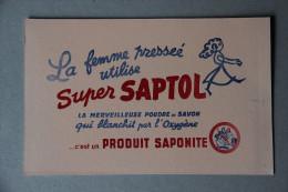 BUVARD SUPER SAPTOL, Poudre De Savon, Produit Saponite - Wash & Clean