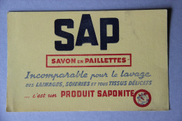 BUVARD SAP, Savon En Paillettes, Produit Saponite - Wash & Clean