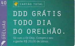 Orelhão Card Total40 Prepaid Phonecard - Brazil - Brésil