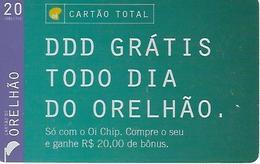 Orelhão Card Total20 Prepaid Phonecard - Brazil - Brésil
