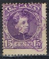 Sello 15 Cts Alfonso XIII, Carteria, CASEDA (Navarra), Num 246 º - 1931-Hoy: 2ª República - ... Juan Carlos I