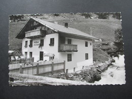 AK Österreich 1954 Gasthaus Stuibenfall Besitzer Woptner Seehöhe 1500m Niederthei Ötztal, Tirol - Hotels & Gaststätten