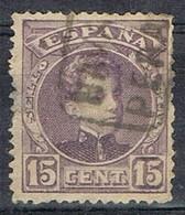 Sello 15 Cts Alfonso XIII, Carteria, PERALTA (Navarra), Num 245 º - 1931-Hoy: 2ª República - ... Juan Carlos I