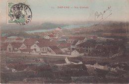 """INDOCHINE : TONKIN . CP . OBL ."""" DAP CAU """" . 1912 . - Indochina (1889-1945)"""