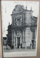 VALPERGA , PARROCCHIA, ANIMATA - 1905 VIAGGIATA - Altre Città