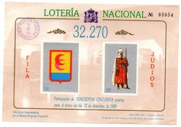 Loteria Nacional De Alcoy Fiesta De Moros Y Cristianos. - España