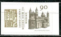 BRD - Mi 3394 Gestanzt Aus FB 78 - ** Postfrisch (K) - 90C      1000 Jahre Dom Zu Worms - Ausgabe: 07.06.2018 - [7] West-Duitsland