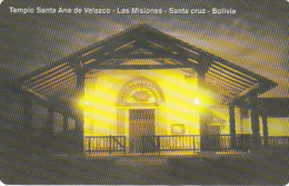 BOLIVIA(Urmet) - Templo Santa Ana De Velazco, Mint - Bolivia