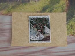 Timbres Neuf 1972 > N°1703 - Y&T - Claude Monet - Coté 1,20€ - France