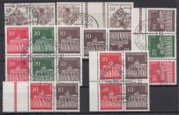 7 Versch. ZD 60er Jahre, Dabei Größere Einheit, O - Berlin (West)