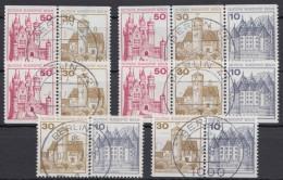 """Mi-Nr. W 61/6, """"BuS"""", Alle ZD Aus MHBl 18, O - Berlin (West)"""