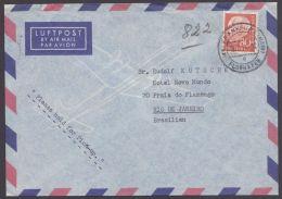 Mi-Nr. 264, EF Auf Luftpost Nach Brasilien - BRD