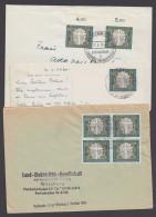 Mi-Nr. 329, EF, MeF Und FDC Mit Sst. Auf 3 Belegen - Briefe U. Dokumente
