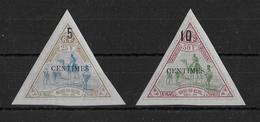 COTE DES SOMALIS - YT N° 35/36 * LUXE CHARNIERE TRES LEGERE - COTE = 190 EURO - - Côte Française Des Somalis (1894-1967)
