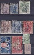 COLONIE ITALIANE LIBIA 1922-24 / 2 Serie Complete + 2v Espressi Usati - Libia