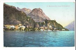 CPA - Carte Postale - SUISSE -  Mammette Lago Di Lugano -1909 - S448 - TI Tessin
