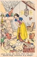"""¤¤  -    Illustrateur  """" WALT DISNEY """"   -  Blanche-Neige Et Les Sept Nains  - Animaux, Lapin, Ecureuils  -  ¤¤ - Disney"""