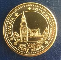 Slovakia, Banska Stiavnica, Old Castle, Unesco, Souvenir Jeton - Tokens & Medals