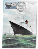 CM  Paquebot France - 1960-69