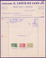 1949: Factuur Van ## IJzerwaren A. LOUIS- DE LEUS N.V., IJzerenleen, 6, Mechelen ## Aan ## Firma GULDERS & VAN VAECK, .. - Belgium